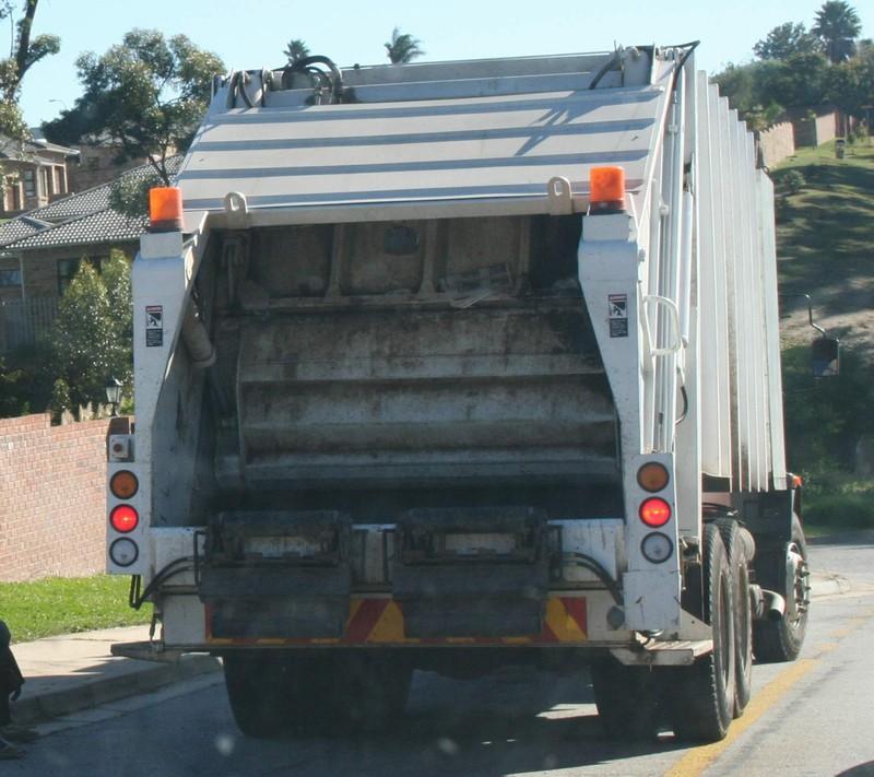 cop kamyonu